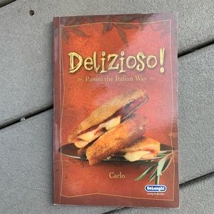 PANINI COOKBOOK DELIZIOSO ITALIAN MEAL BY CARLO
